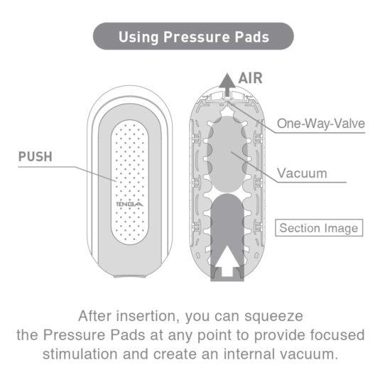 flip 0 pressure pads