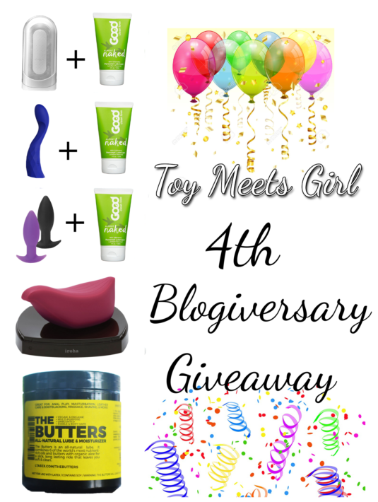 4th blogiversary graphic