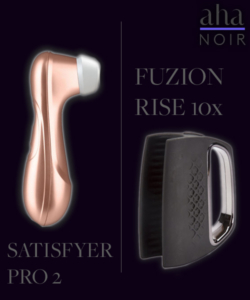 Giveaway: Satisfyer Pro 2 or Rocks Off Fuzion Rise 10x